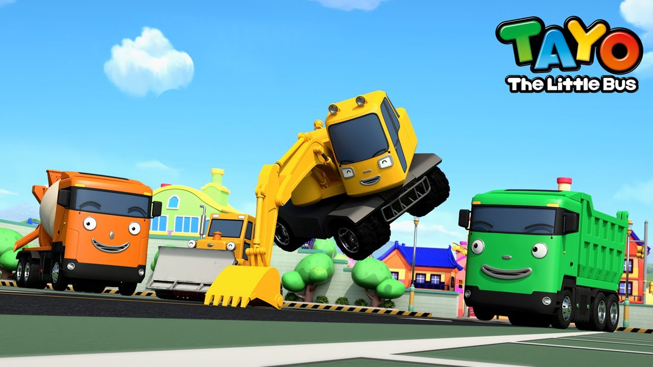 *NEW* Strong Heavy Vehicles +Compilation l Tayo Heavy Vehicle Songs for Kids l Tayo the Little Bus