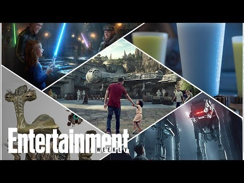 Star Wars: Galaxy's Edge - A First Look At Disneyland's Newest Attraction | Entertainment Weekly