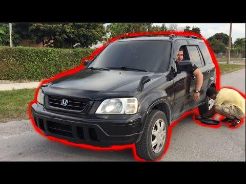 FWD Tray Drifting In A Honda CRV!
