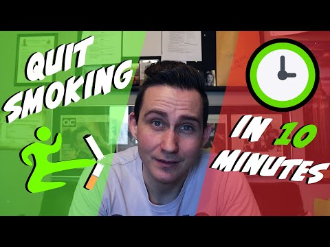 How To Quit Smoking FOREVER IN 10 MINUTES