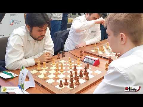 Checkmate ends the game! Nakamura vs Sarana World Blitz 2019