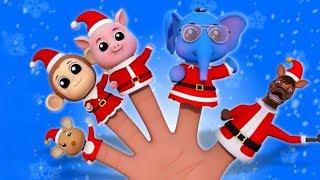 Санта Клаус Палец семья рождественская песня праздничная песня Santa Claus Finger Family