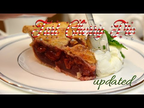 Tart Cherry Pie | Updated | Holiday Baking