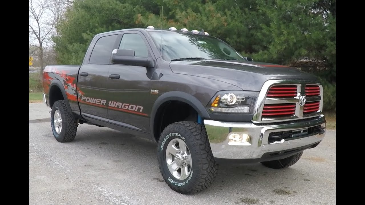 Dodge Crew Cab Power Wagon The 1964 2017 Ram 2500 4x4 New Martinsville In