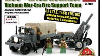 База огневой поддержки от Brickmania! Lego самоделка на тему вьетнамской войны
