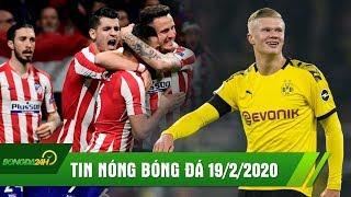 TIN NÓNG BÓNG ĐÁ 19/2   Haaland lên đồng giúp Dortmund hạ PSG   Liverpool trắng tay rời Madrid