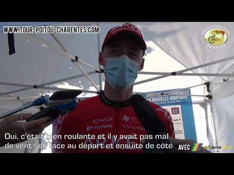 Interview Connor Swift (Arkéa-Samsic), leader du classement général du Tour Poitou-Charentes