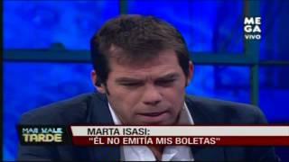 Diputada Marta Isasi se refiere a la relación con su ex asesor