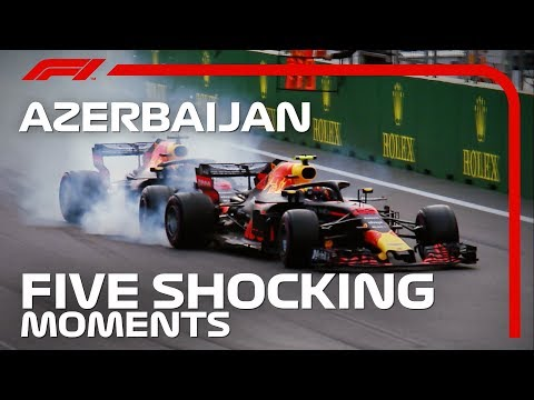Five Shocking Moments at the Azerbaijan Grand Prix