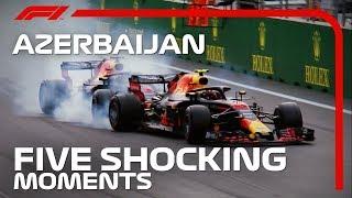 Five Shocking Moments at the Azerbaijan Grand Prix
