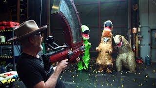 REMIX: 1000 NERF Balls vs. Dinosaurs