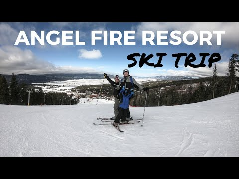 ANGEL FIRE RESORT SKI TRIP | Jesse Coulter