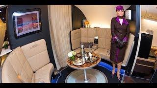 Etihad A380 Cabin Tour | Three-class Airbus A380 | Etihad Airline.