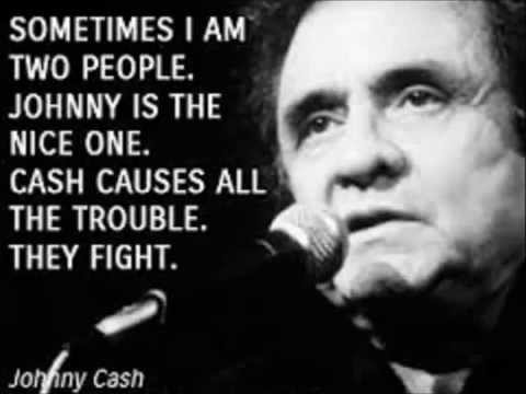 Johnny Cash - The Junkie and the Juicehead...Minus Me (With Lyrics)