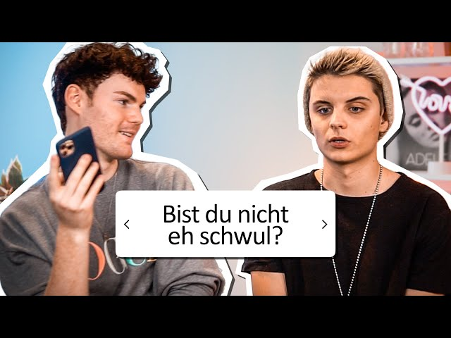 Schwuler stellt Bisexuellem unangenehme Fragen ft. Fabian Grischkat