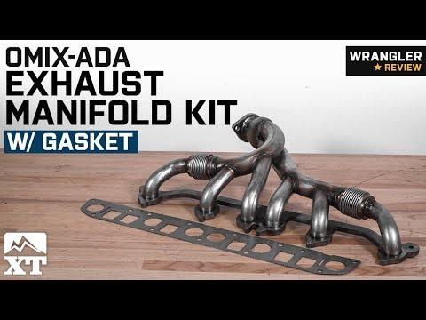Jeep Wrangler Omix-ADA Exhaust Manifold Kit w/ Gasket (1991-1999 4.0L YJ, TJ) Review