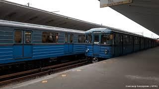 Составы Еж3/Ем-508Т на станции Выхино