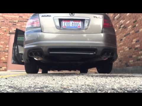 2007 Acura Tl Type S Navigation >> 2007 Acura TL type S exhaust - YouTube