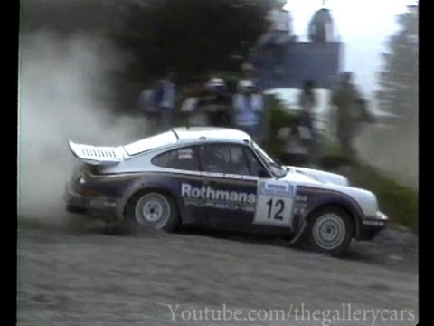 Porsche 911 Rally Car Rothmans 911 Historic Rally Car Youtube