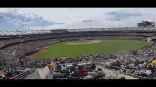 SportsTimeLapses.com: O.co Coliseum (Oakland A