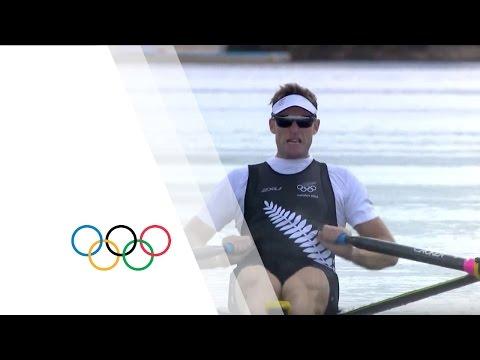 Men's Single Sculls Rowing Replay - London 2012 Olympics