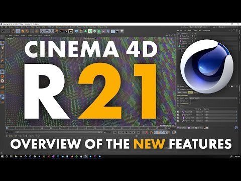 Cinema 4D R21: Breakdown of New Features - YouTube