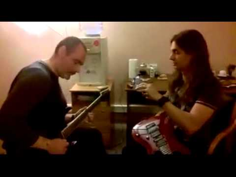 Kiko's guitar teacher in Moscow