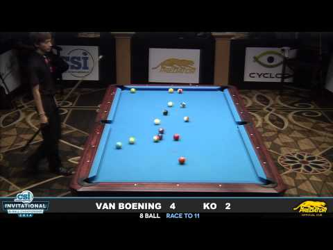 2014 CSI 8 Ball Invitational FINALS: Van Boening vs Ko Ping Chung
