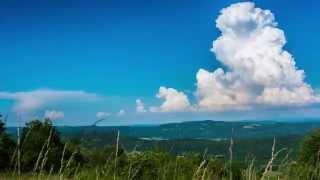 Timelapse Formation Cumulonimbus