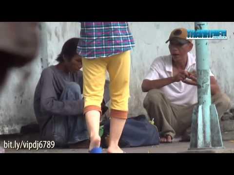 Giả bệnh xin tiền chích ma túy trước Bệnh viện Nhân dân Gia Định