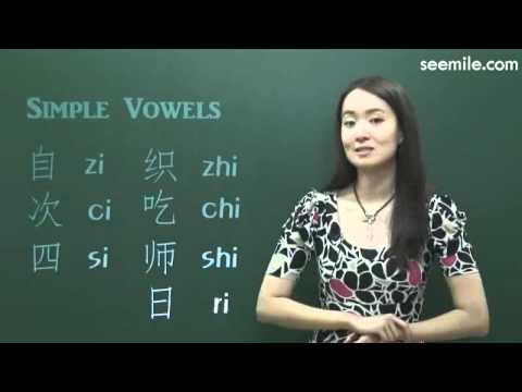 (7 days for Mandarin Pronunciation) 4.Pinyin (Vowels : Simple Vowels a, o, e, i, u)