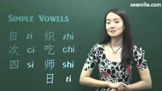 (Chinese Pronunciation) 4.Pinyin (Vowels : Simple Vowels a, o, e, i, u)