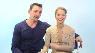 Alexa Scimeca Knierim and Chris Knierim, Haven Denney and Brandon F...