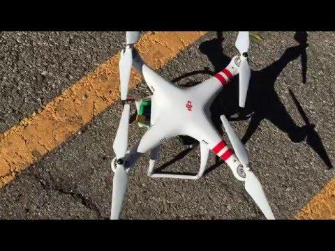 DJI Phantom 1 6600 mAh 4S 14.8V 10C Battery Test Increased Flight Time