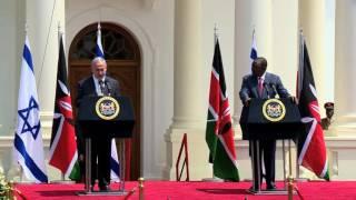 PM Netanyahu and Kenyan President Kenyatta Hold Joint Press Conference