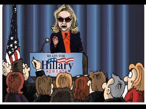 NEW Hillary Clinton In Cleveland, Ohio cartoon