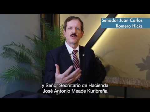 Senador Juan Carlos Romero Hicks Exige Transparencia Y