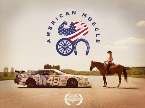 Car Vs Horse EPIC Drag Race - American Muscle