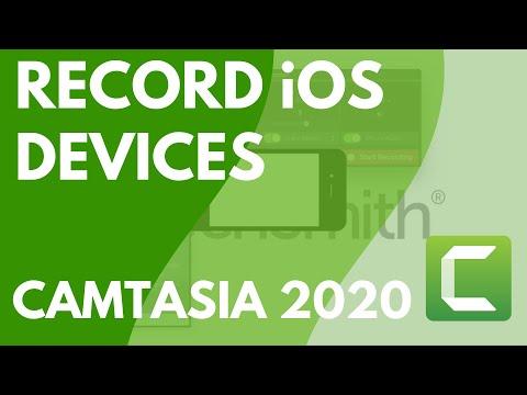 Camtasia: Recording Your IOS Device (Mac)