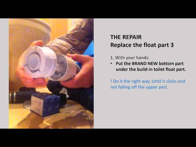 Fixing GROHE DAL leaky build-in-toilet - Flush Valve Replacement - lekkend inbouw toilet