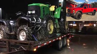 HAULING TRACTORS WITH A 6.4 POWER STROKE