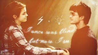 Harry+Hermione | I once was blind but now I see. [dance scene]