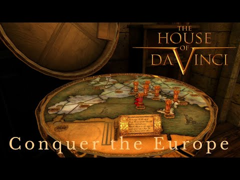 The House of da Vinci - Conquer the Europe | Full Gameplay Walkthrough |