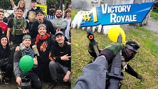 Winning the Mr. Beast $200,000 Youtuber Battle Royale!