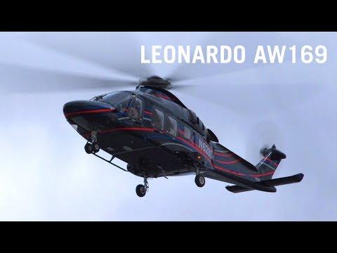 Flying, Italian Style: Leonardo's AW169 VIP Helicopter – AINtv