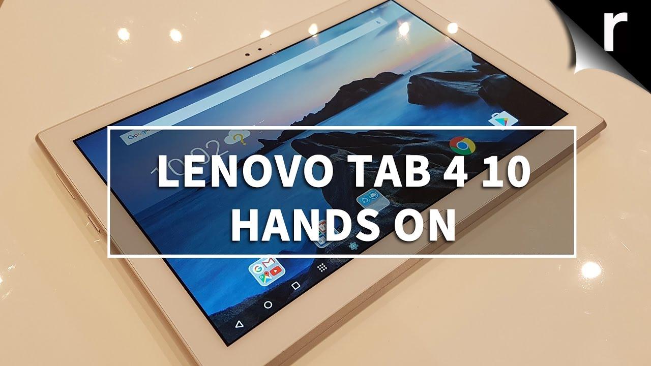 Lenovo Tab 4 10 hands-on review: Striking a balance
