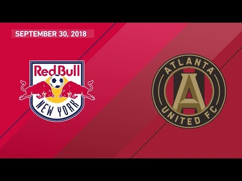 HIGHLIGHTS: New York Red Bulls vs. Atlanta United FC | September 30, 2018