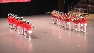 2001香港音樂事務處步操管樂團比賽 香港中國婦女會馮堯敬紀