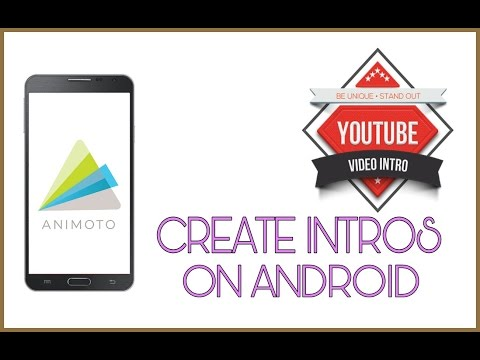 How to create intros for free on android. |Animoto| |Hindi| |Lights Camera Action|