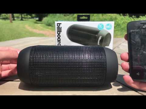 Billboard Water Resistant Wireless Speaker Review